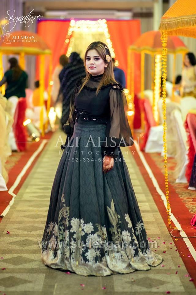 Latest Black Color Dresses Combination Asian Trends 2020 2021