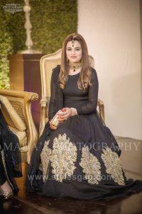 Asian Pakistani Black Color Dresses Combination Collection