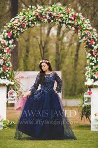 Blue Bridal Shower Dresses & Frocks (4)