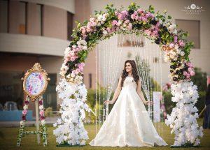Latest Pakistani Bridal Shower Dresses Designs & Styles