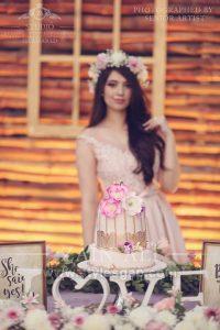 Latest Pink Color Bridal Shower Dresses & Frocks