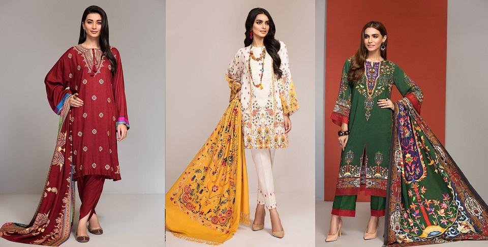 Nishat Linen Winter Dresses Collection, khaddar, linen, karandi, wool umstitched suits