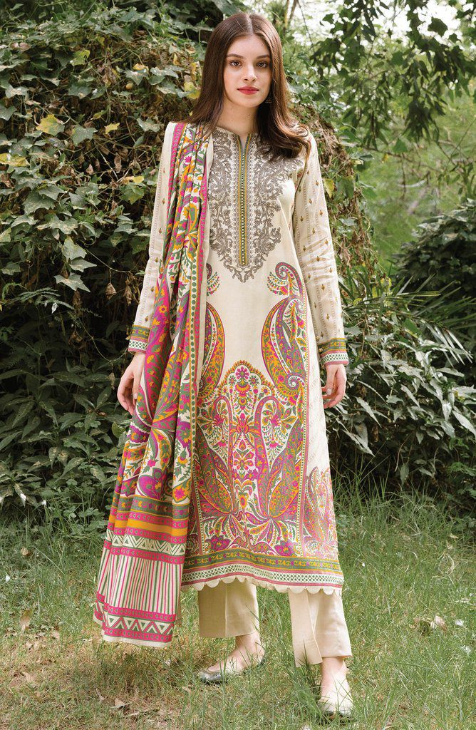 Embroidered & Printed Latest Winter Dresses