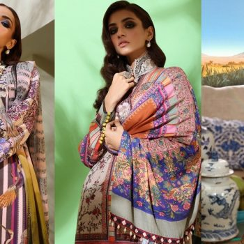 Sana Safinaz Winter Dresses Muzlin Collection 2019-2020