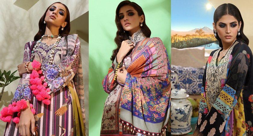 Sana Safinaz Winter Dresses Muzlin Collection 2019-2020