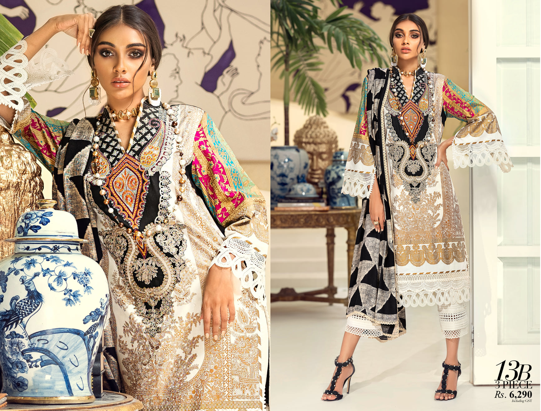 Sana Safinaz Winter Dresses