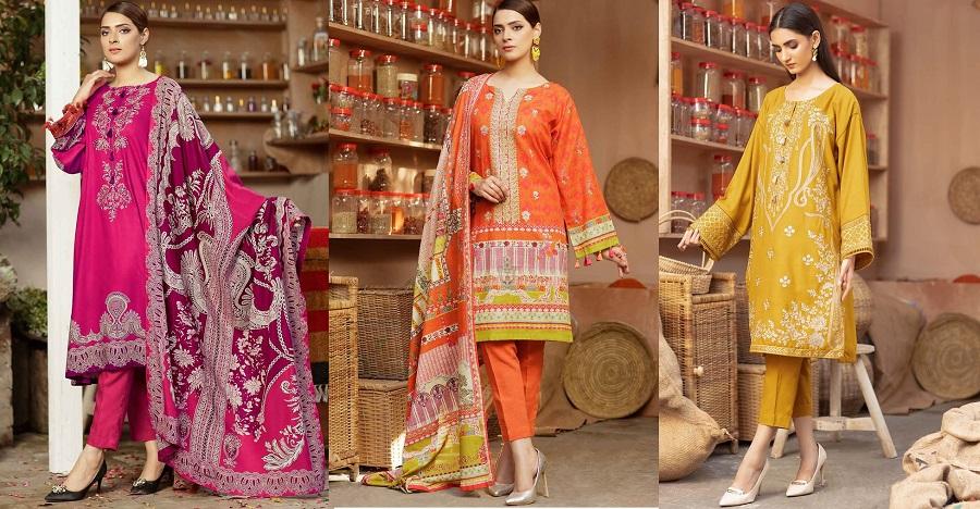 WARDA Latest Women Designer Winter Dresses Collection