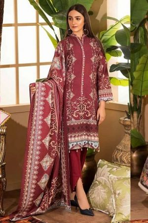 Khas Beautiful Winter Dresses Vivid Luxe Collection 2019-2020