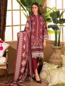 maroon Beautiful Winter Dresses
