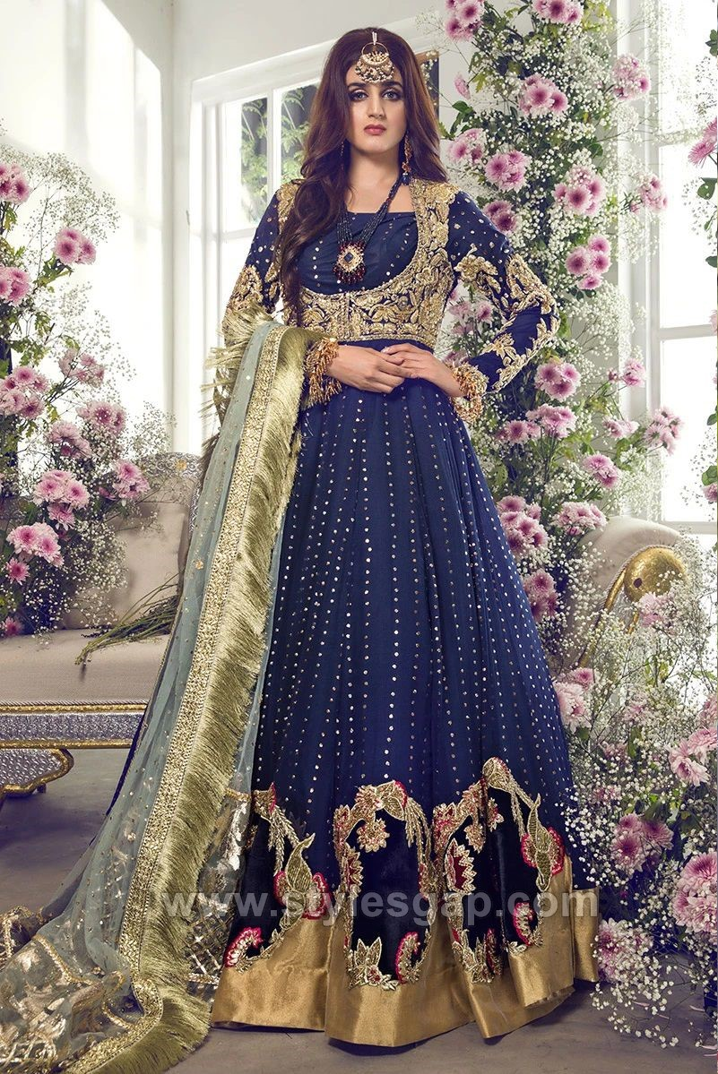 Latest Party & Wedding Wear Formal Peshwas Frocks