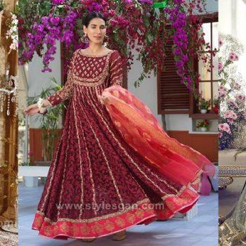 Latest Party & Wedding Wear Formal Peshwas Frocks 2021 Designs