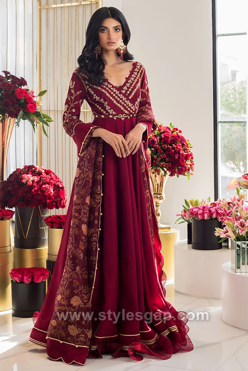Wedding Wear Formal Peshwas Frocks