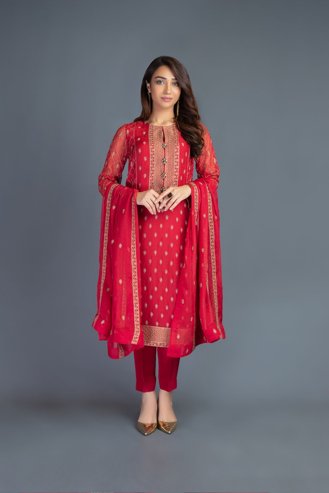 Bareeze Luxury Winter Embroidered Dresses Shawls Designs