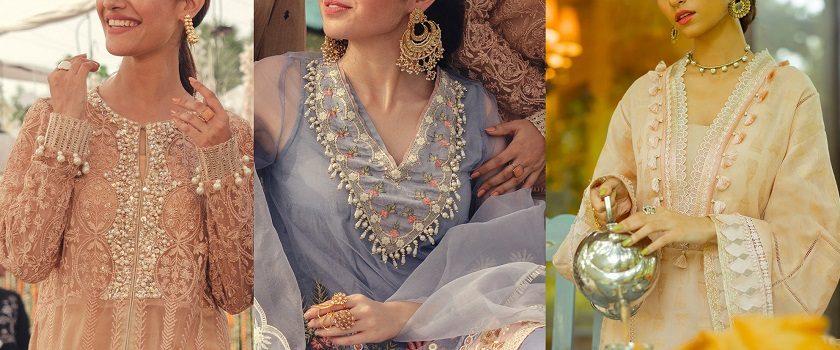 Indian & Pakistani Neckline Gala Designs & Stitching Styles