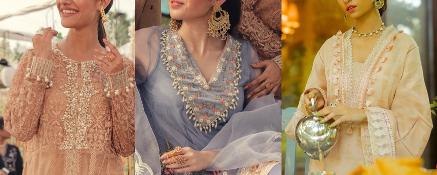 Indian & Pakistani Neckline Gala Designs & Stitching Styles