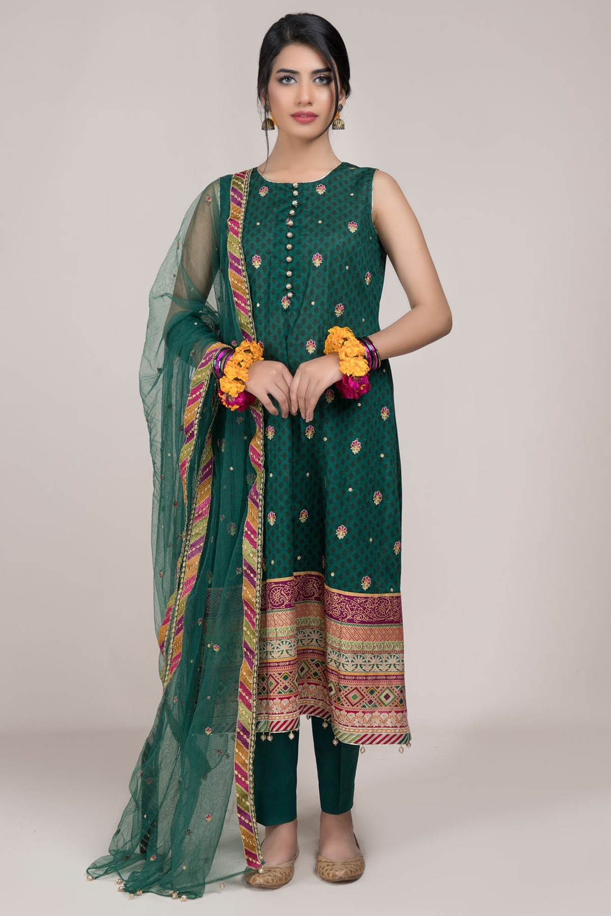 Summer Embroidered Embellished Lawn Dresses