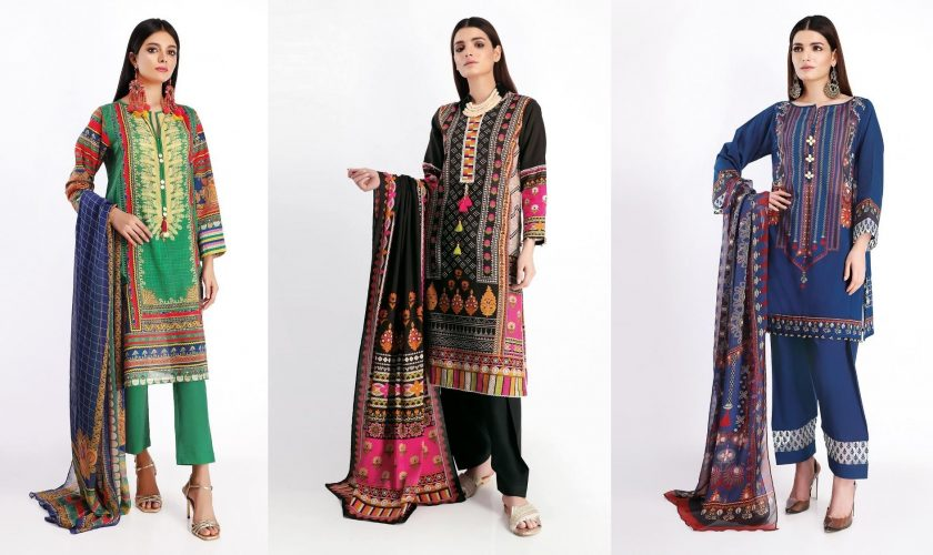 Khaadi Latest Summer Lawn Dresses Designs Collection 2020 – 2021