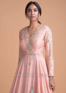 Latest Indian Neckline Gala Designs for Formal Dresses