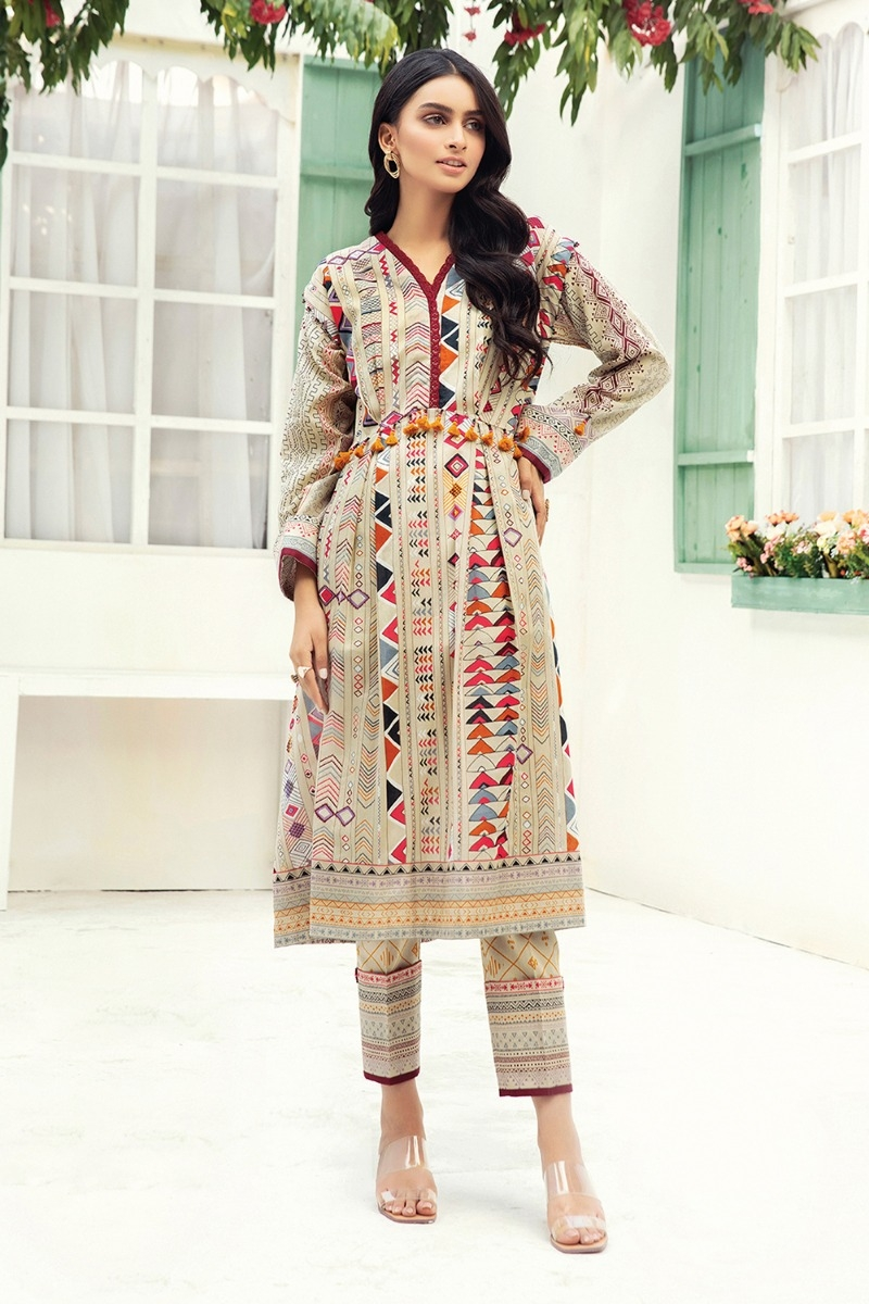 Nishat Linen Spring Summer Collection 2021- Best Lawn Dresses