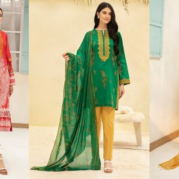Nishat Linen Spring Summer Collection 2021- Best Lawn Dresses to Wear