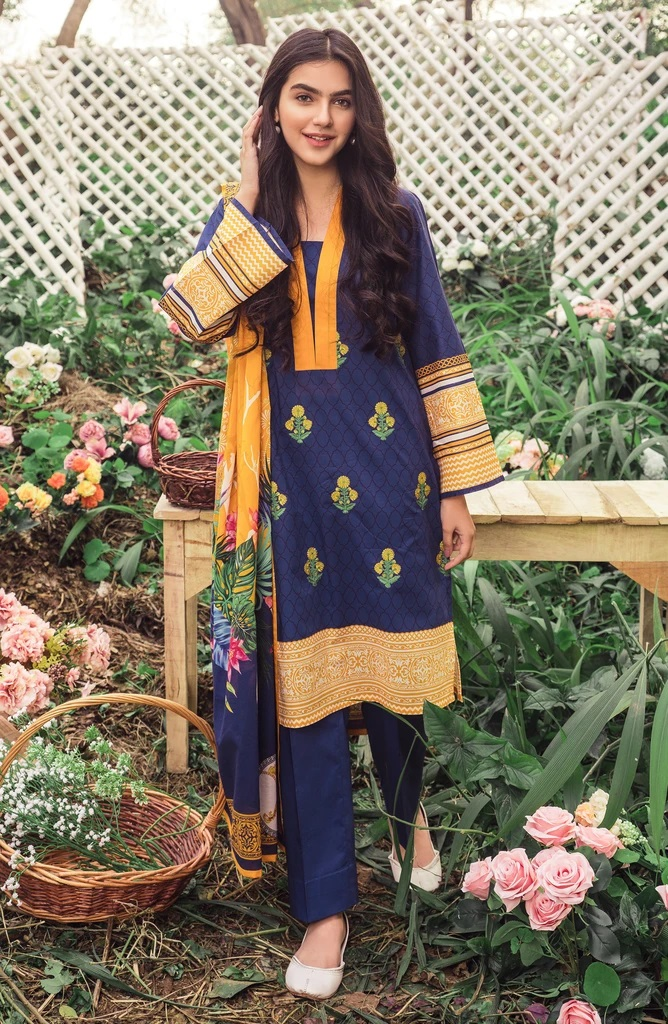 Orient Latest Lawn Suits Spring Summer Collection