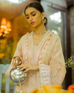pakistani necklines gala designs