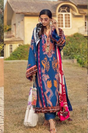 Sana Safinaz Muzlin Collection Summer Lawn Suits 2020