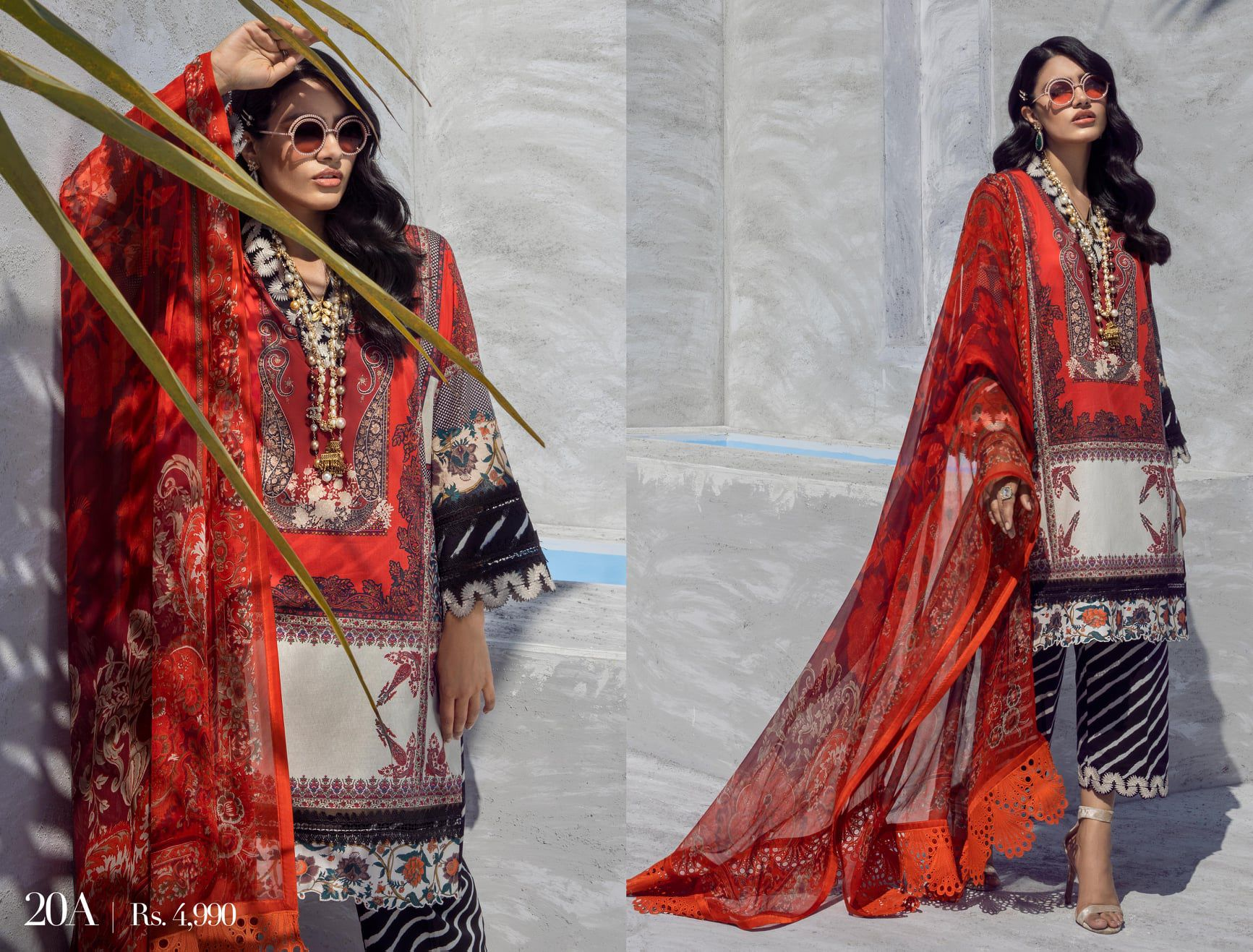 Sana Safinaz Muzlin Collection Summer Lawn Suits