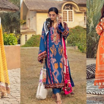Sana Safinaz Muzlin Collection Summer Lawn Suits 2021