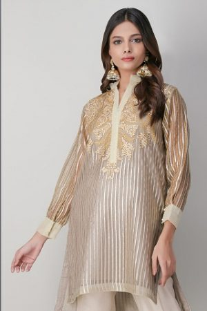 White on White Luxury Suits – Khaadi Lawn Chiffon Eid Dresses Designs Festive Collection 2020
