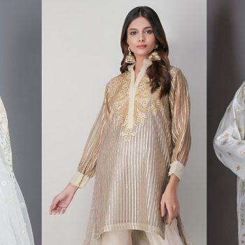 Khaadi Lawn Chiffon Eid Dresses Designs Festive Collection 2021