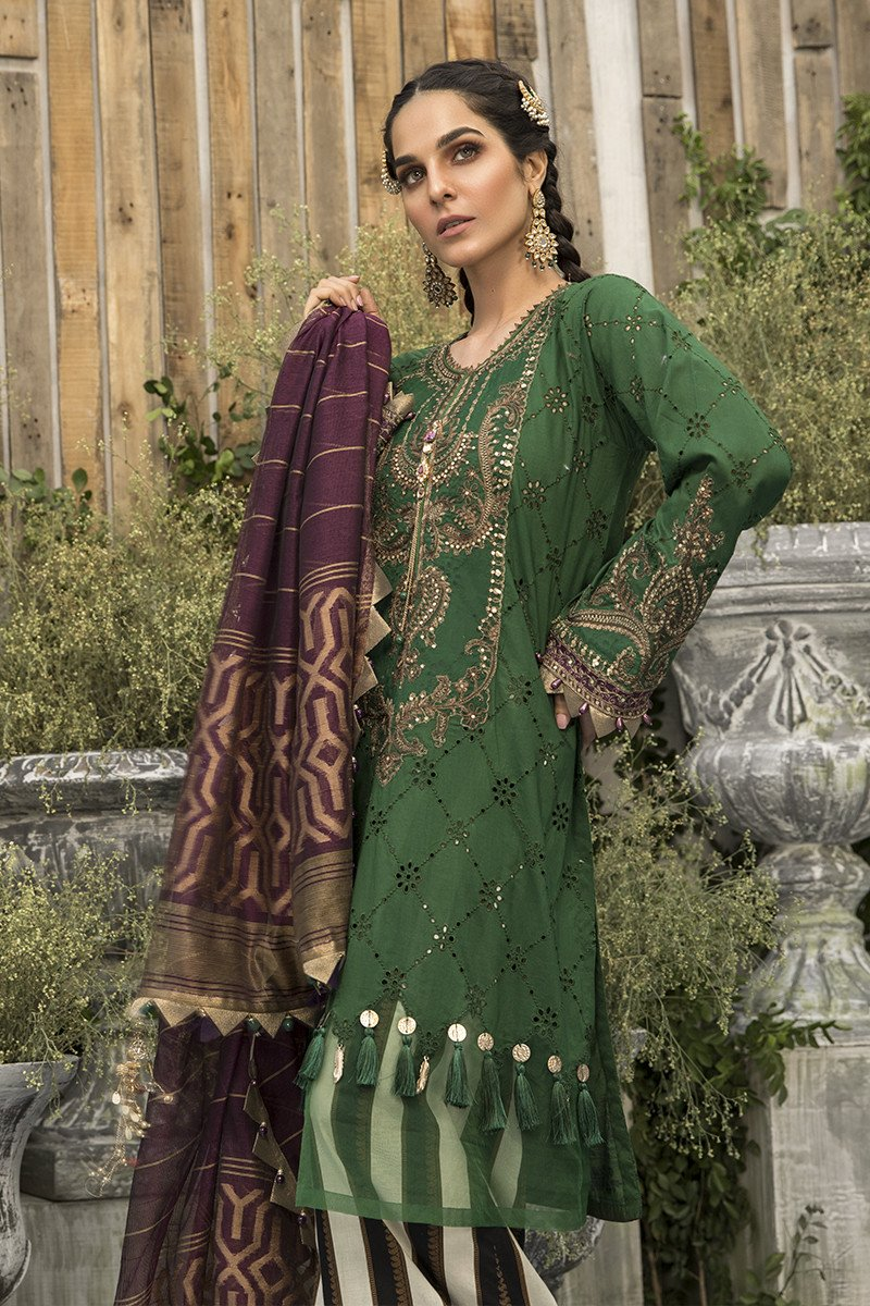 Latest Maria B Eid Lawn Dresses Designs