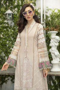 Latest Maria B Eid Lawn Dresses Designs