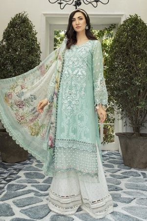 Latest Maria B Eid Lawn Dresses Designs Collection 2020-2021