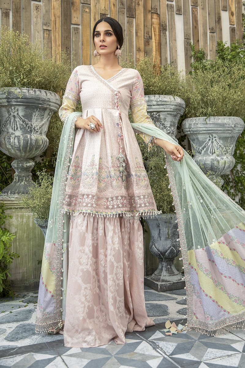 Latest Maria B Eid Lawn Dresses