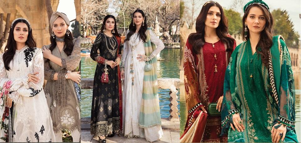 Maria B Lawn Collection 2021 Best Pakistani Designer Summer Dresses