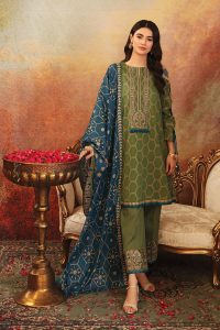 Nishat Linen Latest Eid Luxury Suits