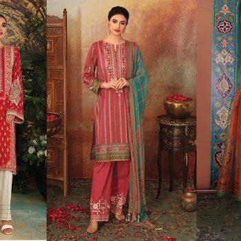 Nishat Linen Latest Eid Luxury Suits Collection 2021