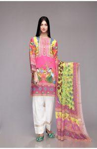Latest Colorful Kurti Peplum Dresses