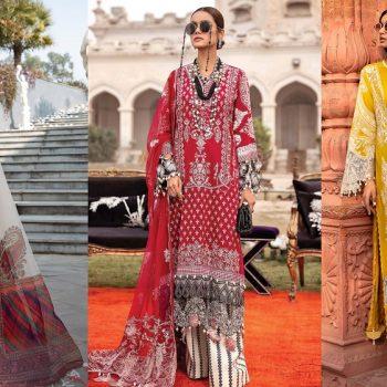 Sana Safinaz Luxury Lawn Best Summer Dresses 2021 Latest Collection