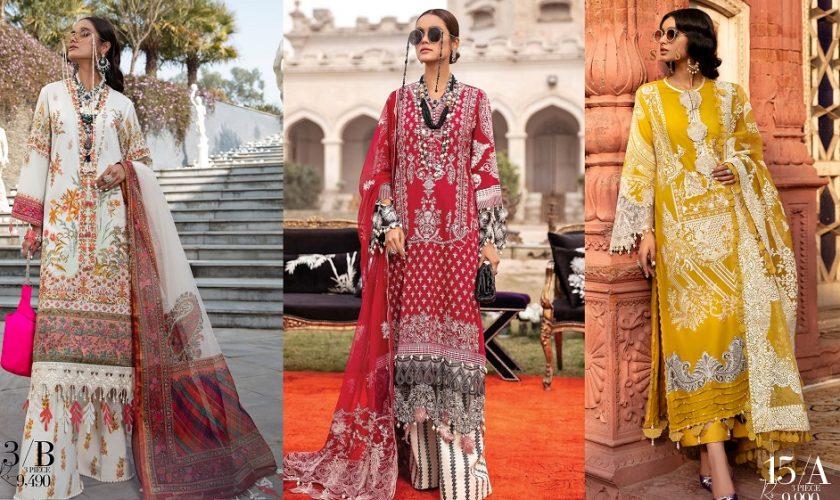 Sana Safinaz Luxury Lawn Best Summer Dresses