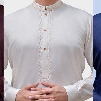 Cotton and Silk Kurtas & Shalwar Kameez Eid Collection 2020 - Top Picks