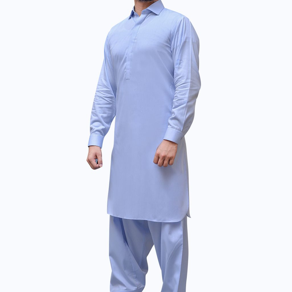 Cotton and Silk Kurtas & Shalwar Kameez