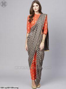 Latest Pant Saree Designs & Trends