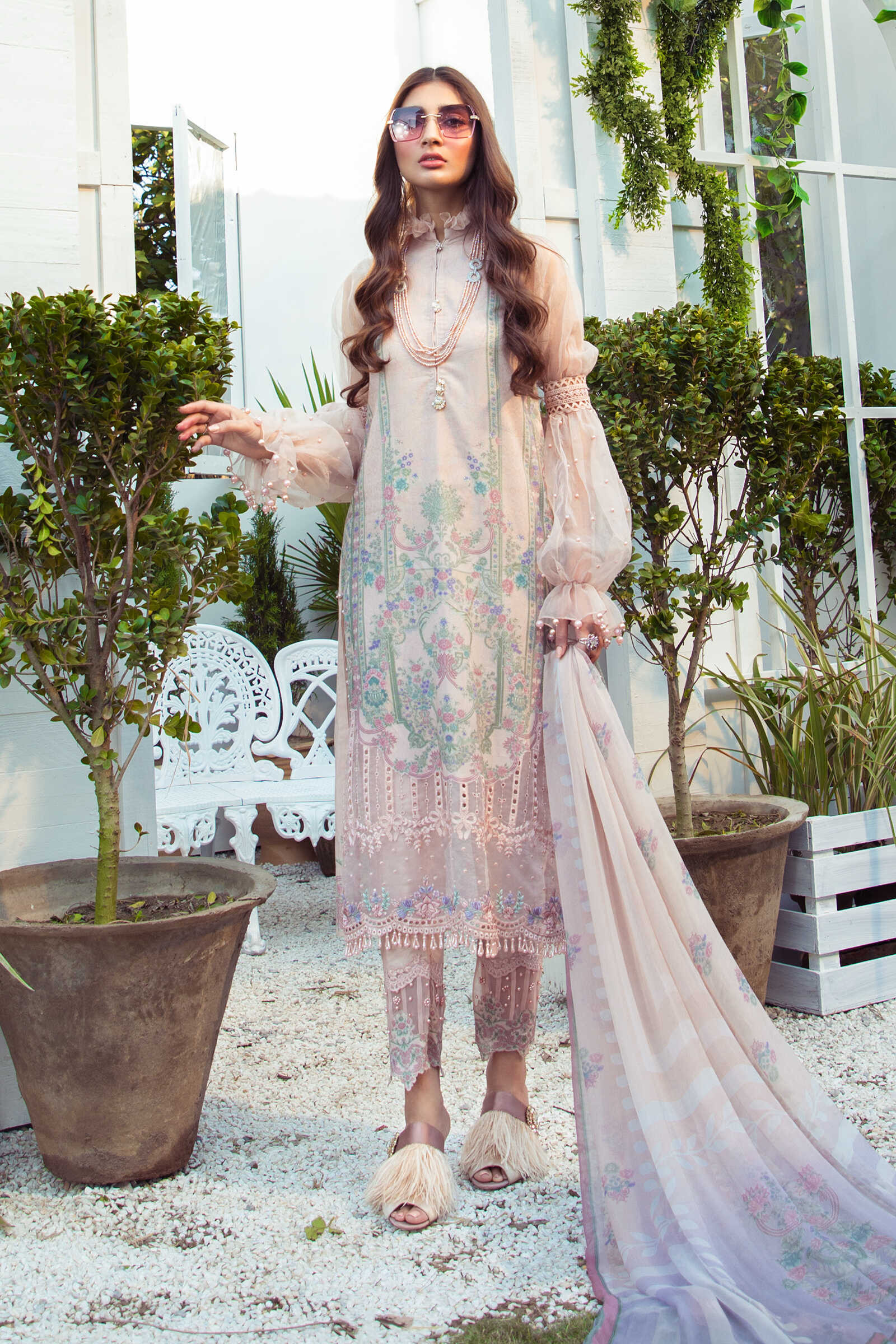 Maria B Printed Embroidered Lawn Collection