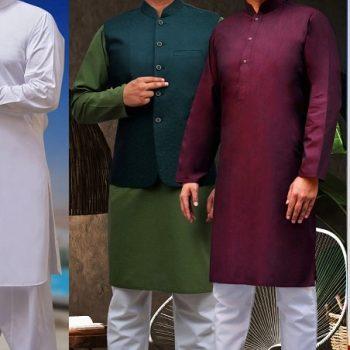 Cotton & Silk Eid ul Azha Men & Kids Collection 2020