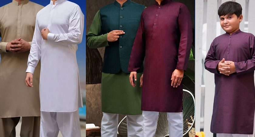 Cotton & Silk Eid ul Azha & Wedding Collection 2020 for Men & Kids