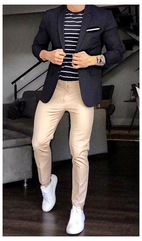 Men's Smart Casual Dress Code