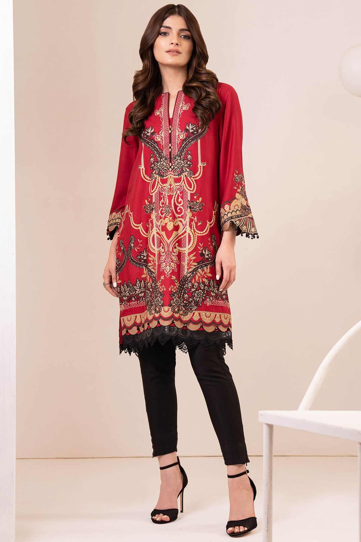 Fall Winter Embroidered Dresses
