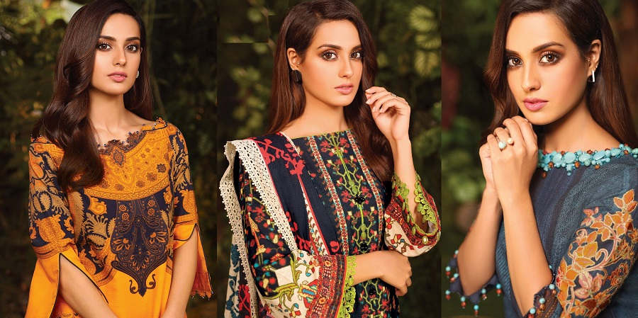 Alkaram Fall Winter Embroidered Dresses Collection 2020-2021